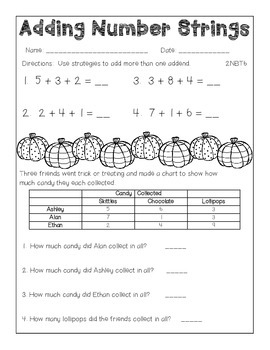 Halloween Theme Packet for First & Second Grade
