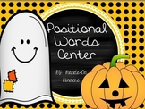 Halloween Theme Positional Words Activities