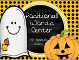 Halloween Theme Positional Words Activities