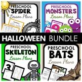 Halloween Theme Preschool Lesson Plan and Halloween Activities BUNDLE