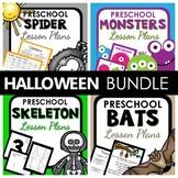 Halloween Theme Preschool Lesson Plan and Halloween Activities BUNDLE