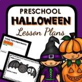 Halloween Theme Preschool Lesson Plans