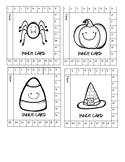 Halloween Theme Punch Cards- Behavior Management