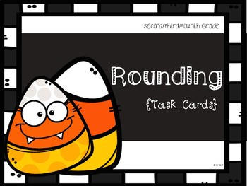 Halloween Theme: Rounding **TEKS ALIGNED**
