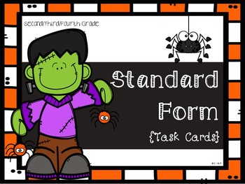 Halloween Theme: Standard Form **TEKS ALIGNED**
