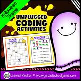 Holiday Unplugged Coding Activities (Halloween Coding Unpl