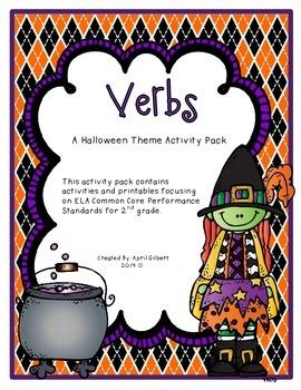 Halloween Theme Verbs Pack