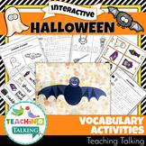 Halloween Vocabulary Activities