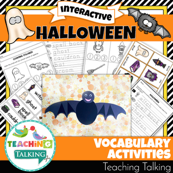 Halloween Theme Vocabulary Activities