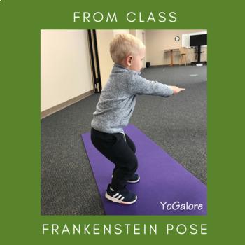 Halloween Theme Yoga Pose & Movement Cards