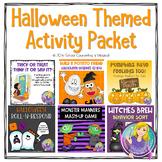 Halloween Themed Activity Bundle (Growing Bundle)