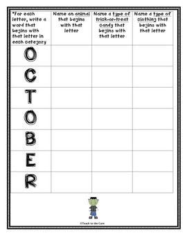 FREE Halloween-Themed Word Search, Spelling, Making Words and Coloring Pages