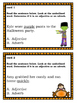 Halloween Themed Adjective/Adverb Identification Task Cards