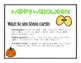 Halloween Alphabet Cards Activities: Letter Recognition and Handwriting