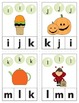 Halloween Themed Alphabet Clip Cards