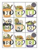 Halloween Themed Alphabet Matching/Memory Game