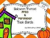 Area & Perimeter Task Cards | Halloween Themed