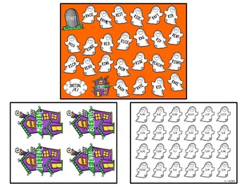 Halloween-Themed Articulation Board Games BUNDLE