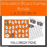 Halloween-Themed Articulation Board Games BUNDLE