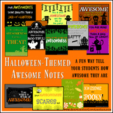 Halloween-Themed Awesome Note Bundle