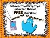 Halloween Brag Tag FREE