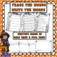 Halloween Themed Big Writing Station Cards