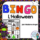 French Halloween Themed Bingo Game
