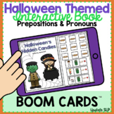 Halloween Themed Interactive Book for Prepositions & Prono