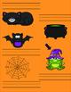 Halloween Themed CVC File Folder Game