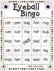 Halloween Themed CVC Game - Eyeball Bingo