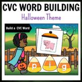 Halloween Themed CVC Word Building Pack