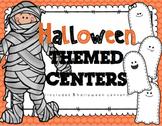 Halloween Themed Centers