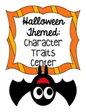 Halloween Themed Character Traits Center