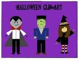 Halloween Themed Clip Art
