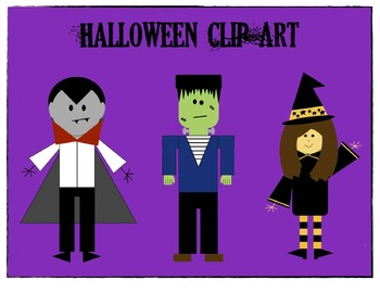Halloween Themed Clip Art