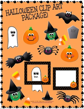 Halloween Themed Clip Art for Commercial Use