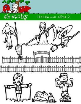 Halloween Themed Clipart / Graphics 2