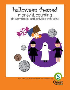 Halloween Themed Coin Counting