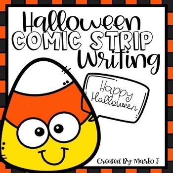 Halloween Themed Comic Strip Writing
