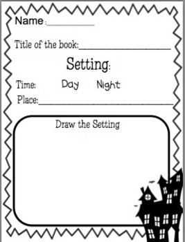 Halloween Themed Comprehension Sheets