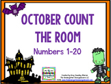 Counting!  October Differentiated Count The Room!
