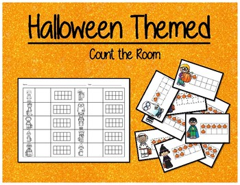 Halloween Themed - Count the Room