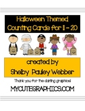 Halloween Themed Counting Sets 11 - 20
