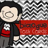 Halloween Themed Dialogue Task Cards