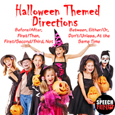 Halloween Themed Directions
