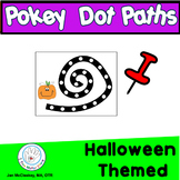 Fine Motor Halloween Themed Pokey Dot Activities