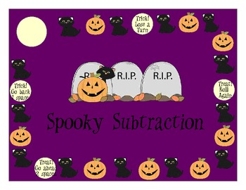 Halloween Themed Double Digit Addition and Subtraction Games