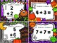 Halloween Themed Doubles & Doubles Plus One Task Cards/Roam the Room