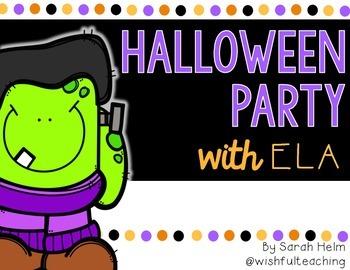 Halloween Party {ELA Activities}