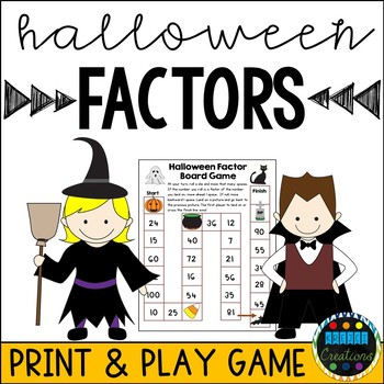 Halloween Themed Factor Board Game